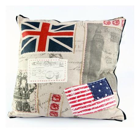 Coussin Anglais Américain - Coussins - Lecomptoirdesauthentics