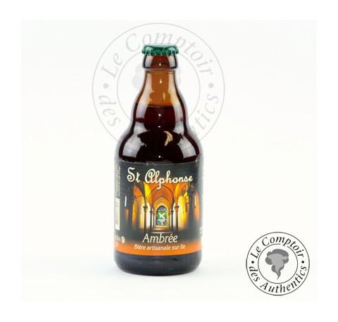 Bière Ambrée Saint Alphonse 7.5%