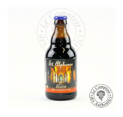 Bière Brune Saint Alphonse 8.5%