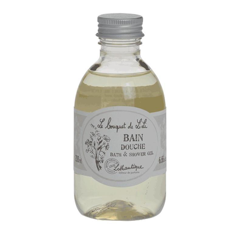 gel douche ou bain lothantique fleurs blanches le bouquet de lili bougie senteur bien tre. Black Bedroom Furniture Sets. Home Design Ideas