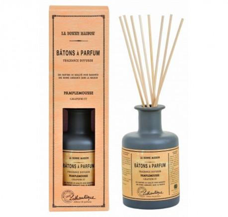 Bâtons à Parfum PAMPLEMOUSSE - LOTHANTIQUE La Bonne Maison 200 ml - Senteur - Bougie, senteur, bien-être - Lecomptoirdesauthentics