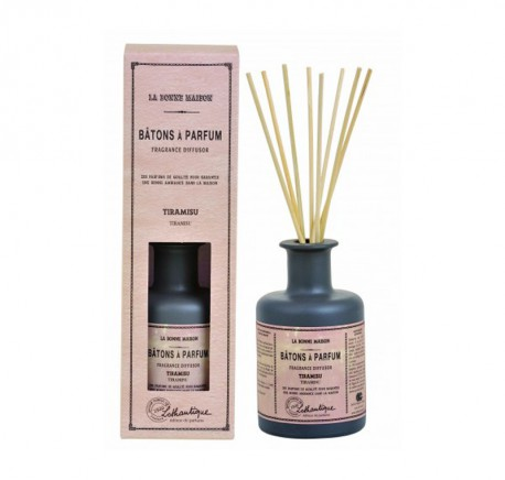 Bâtons à parfum TIRAMISU - LOTHANTIQUE La Bonne Maison 200 ml - Diffuseur de parfum - Lecomptoirdesauthentics