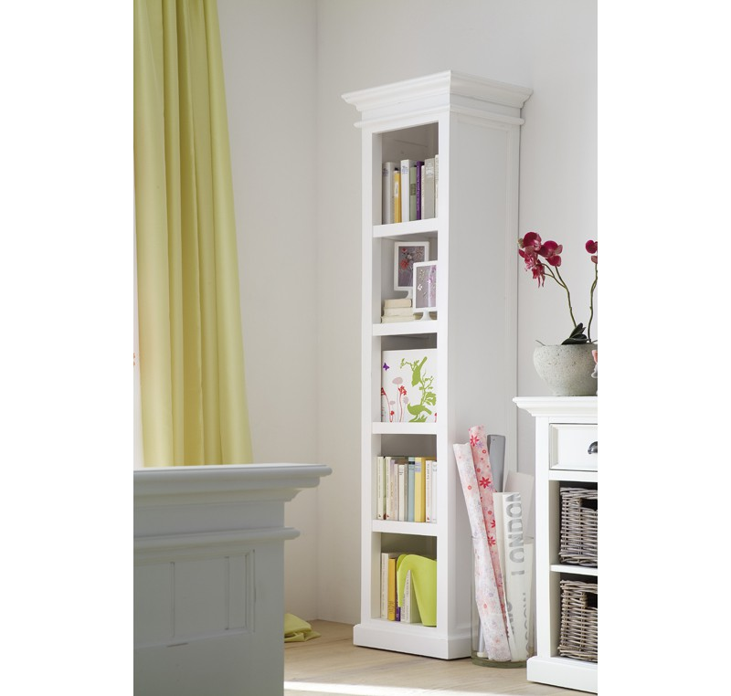 colonne bois blanc collection leirfjord biblioth que tag re meubles bois. Black Bedroom Furniture Sets. Home Design Ideas