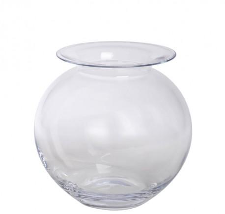 Vase rond en verre - Vase - Lecomptoirdesauthentics