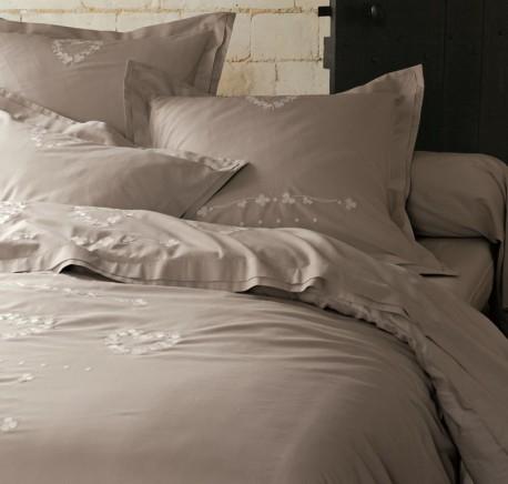 Housse de couette 240/220 SYLVIE THIRIEZ Collection LEOPOLDINE - Linge de lit - Chambre à coucher - Lecomptoirdesauthentics