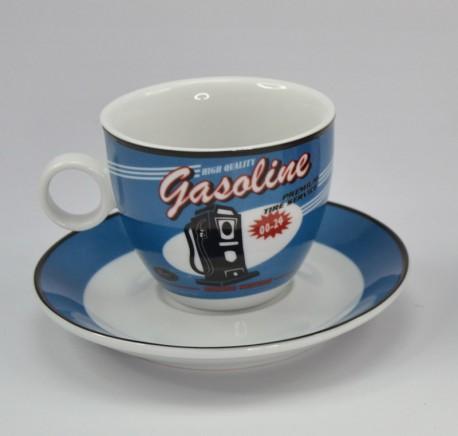 Lot 2 tasses à café vintage station  - Art de la table - Lecomptoirdesauthentics