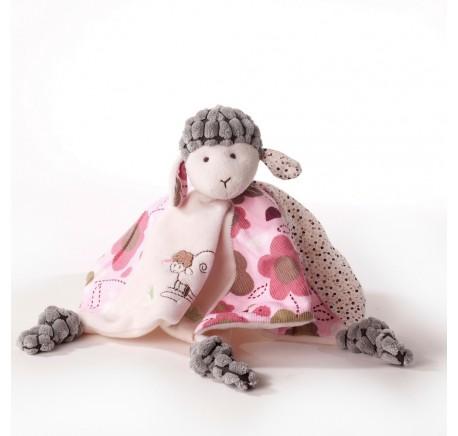 Doudou Bébé Mouton très doux - Peluche, doudou - Lecomptoirdesauthentics