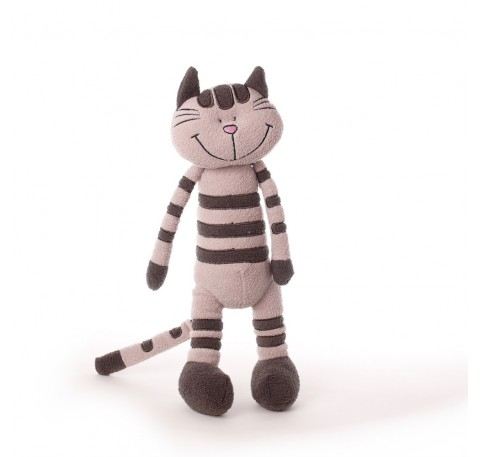 soft toy slim cat