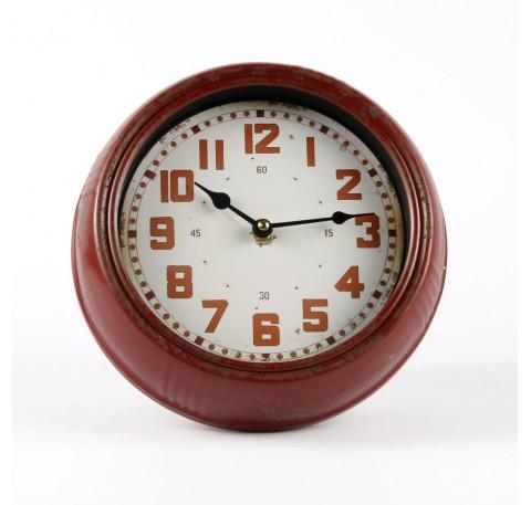 D co horloge vintage et d coration vintage 2 le comptoir des authentics - Pendule murale rouge ...