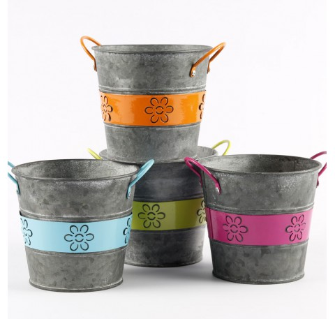 Petits Pots Forme Ronde, avec Anses Métal