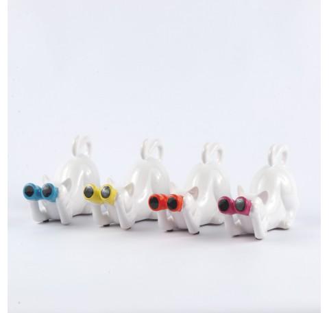 Chat ARTY 17 cm Jumelles