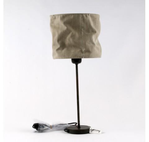 Lampe kATRIEN abat-jour en tissus cousu