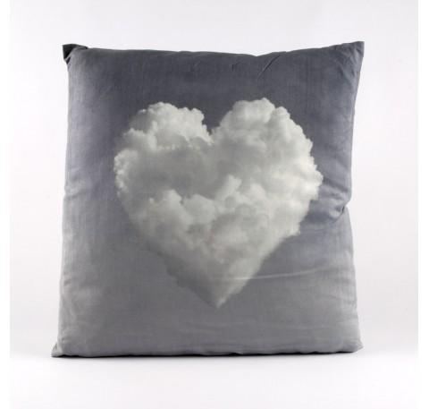 Coussin Coeur nuage