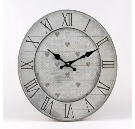 ELISA Horloge 34cm - Art de la table - Lecomptoirdesauthentics