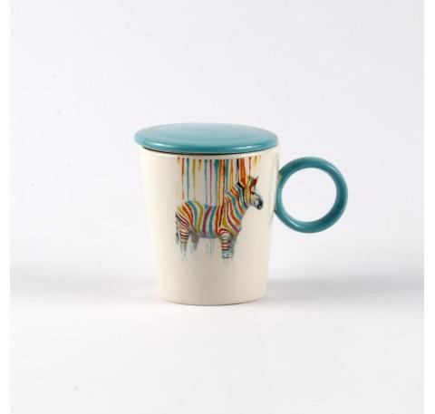 Mug tisanière Pop art