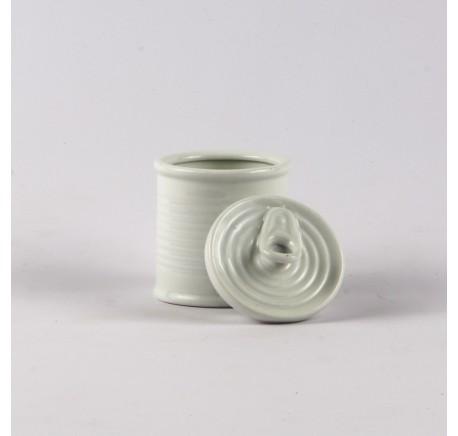 Conserve Sucrier Blanc 6.5 x 9 cm - Art de la table - Lecomptoirdesauthentics