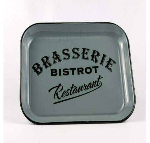Plateau Rectangle BRASSERIE BISTROT Bleu