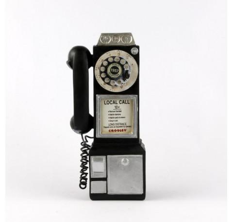 TELEPHONE VINTAGE noir Objet décoratif