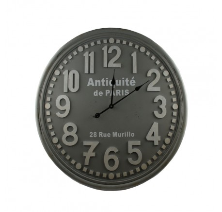 Horloge ANTIQUITES 80 cm - Déco vintage - Lecomptoirdesauthentics