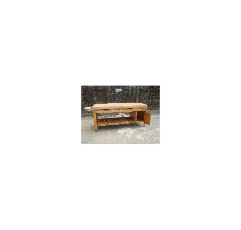table teck table basse teck massif table bois lecomptoirdesauthentics. Black Bedroom Furniture Sets. Home Design Ideas