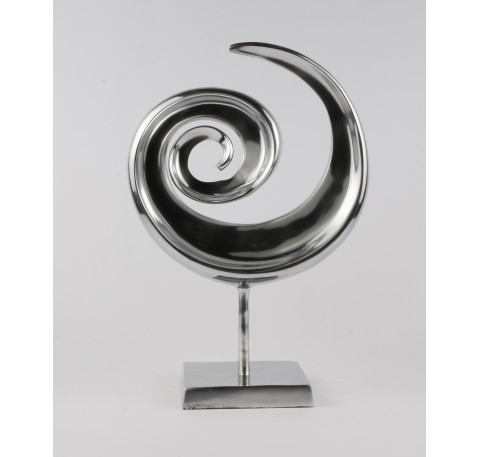 Statuette Décoration CHROME Collection Twist