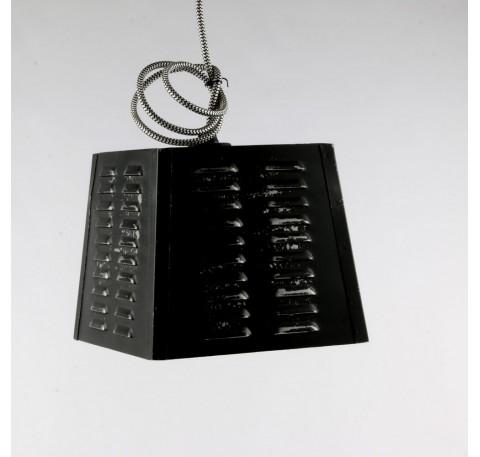 Lampe SUSPENSION Vintage Noire