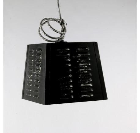 Lampe SUSPENSION Vintage Noire - Luminaire - Lecomptoirdesauthentics