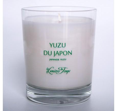 Bougie Végétale 180g YUZU DU JAPON - LES LUMIERES DU TEMPS 55H - Bougie, senteur, bien-être - Lecomptoirdesauthentics