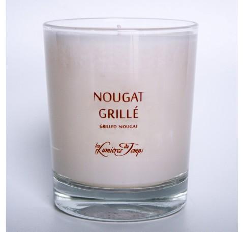 Bougie Végétale LES LUMIERES DU TEMPS - Nougat Grillé 180 gr