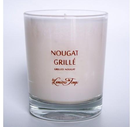 Bougie Végétale NOUGAT GRILLE - Les Lumières du Temps 180 gr - Bougie, senteur, bien-être - Lecomptoirdesauthentics