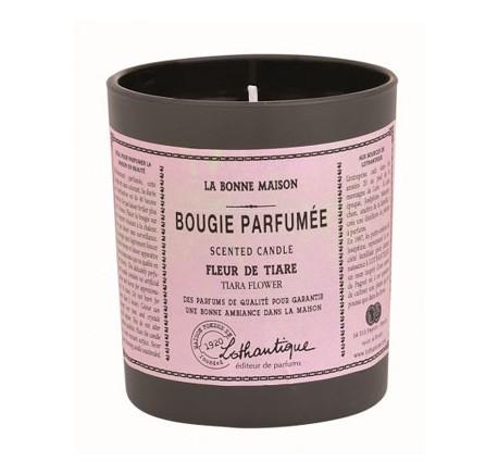 Bougie FLEUR DE TIARE - LOTHANTIQUE 40h - Bougie - Bougie, senteur, bien-être - Lecomptoirdesauthentics