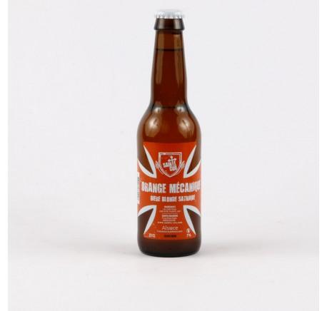 Bière SAINTE CRU Orange Mécanique - Bière Artisanale - Lecomptoirdesauthentics