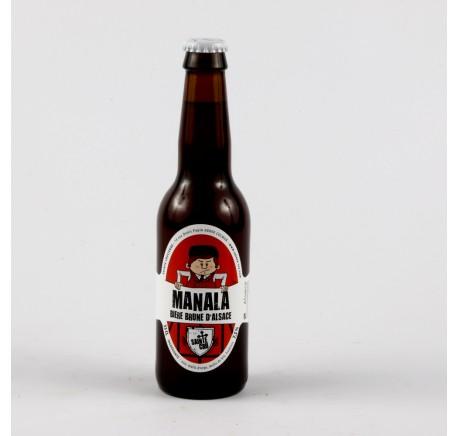 Bière SAINTE CRU Manala - Bière Artisanale - Lecomptoirdesauthentics
