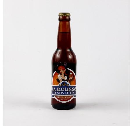 Bière de SAINT-LOUIS Rousse - Bière Artisanale - Lecomptoirdesauthentics