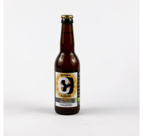 BLESSING Rieuse - Bière Blanche - Bière Artisanale - Lecomptoirdesauthentics