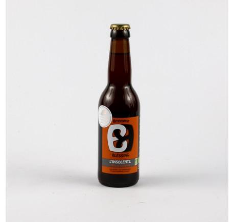 BLESSING Insolente - Bière Ambrée - Bière Artisanale - Lecomptoirdesauthentics