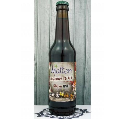 Bière MATTEN Higway to Ale  6,66%