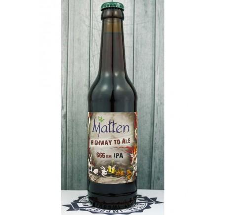 Bière MATTEN Higway to Ale  6,66% - Bière Artisanale - Lecomptoirdesauthentics