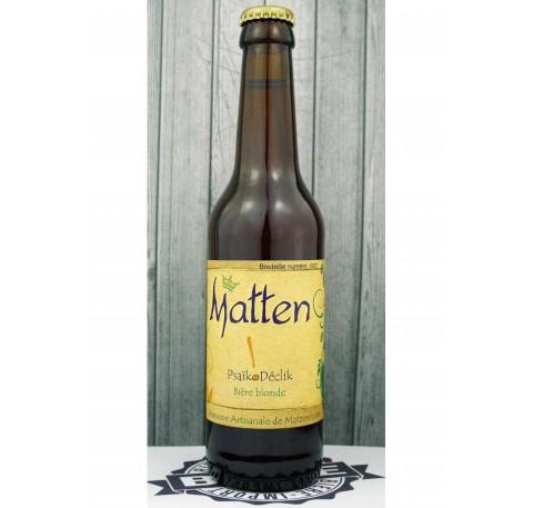 Bière MATTEN Psaïkodéclik  5,2%