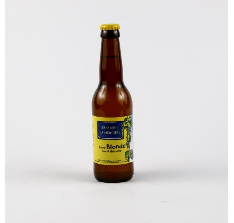 Bière LA MERCIERE Blonde 5.5 %