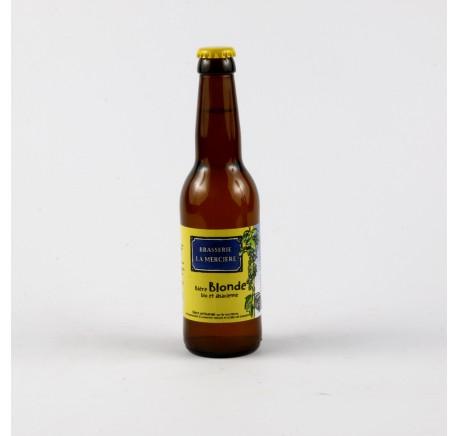 Bière LA MERCIERE Blonde 5.5 % - Bière Artisanale - Lecomptoirdesauthentics