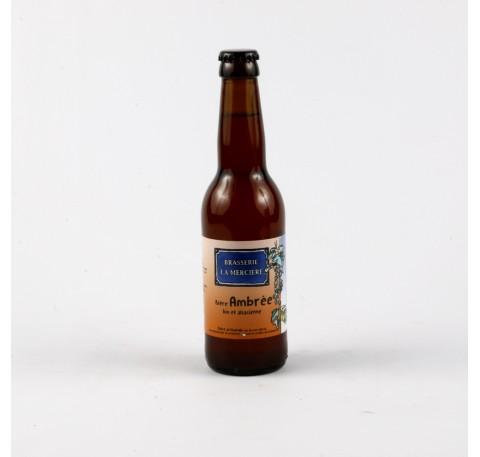Bière LA MERCIERE Ambrée 5.4 %