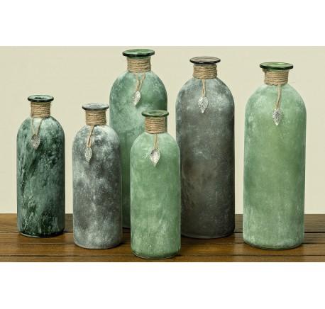 Vase NALANI Hauteur 20 cm - Vase, cache pot, fleur - Objet déco Maison - Lecomptoirdesauthentics