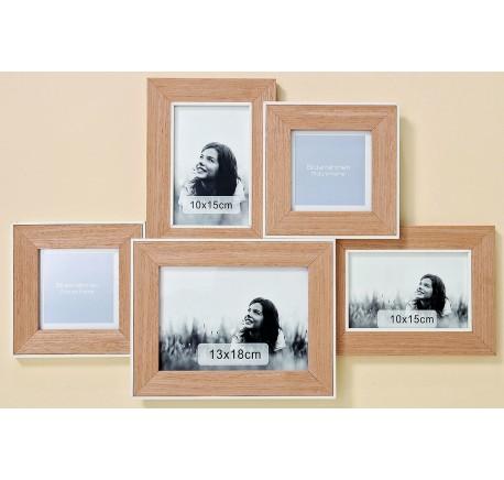 Cadre Photo Multi Collection MANJA - Cadre - Lecomptoirdesauthentics