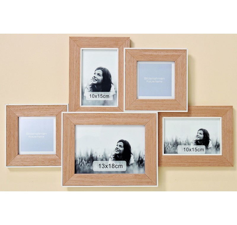 cadre photo multi collection manja cadre lecomptoirdesauthentics. Black Bedroom Furniture Sets. Home Design Ideas