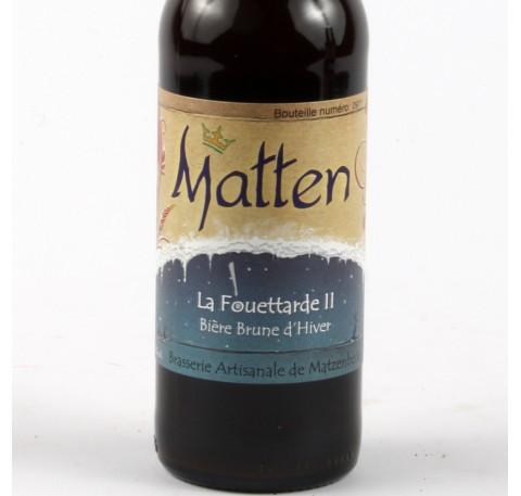 Bière MATTEN Fouettarde II 7.3%