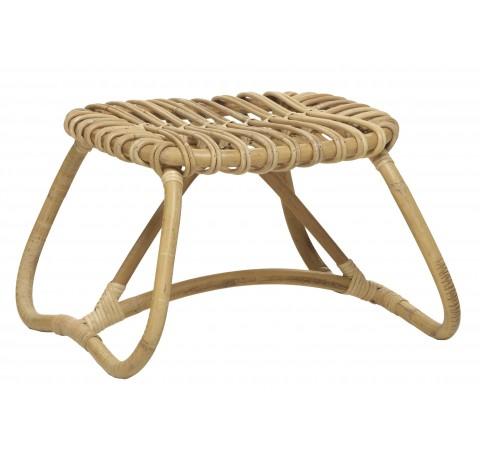 Table Basse/ Pouf Boucle Naturel