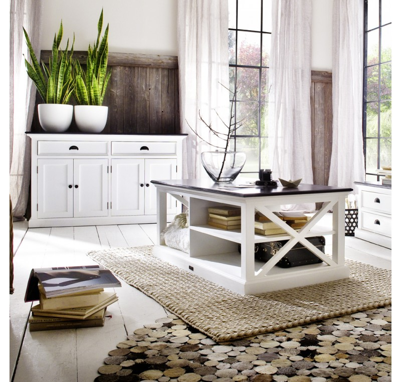 table basse bois blanc collection leirfjord contrast table salle manger s jour. Black Bedroom Furniture Sets. Home Design Ideas