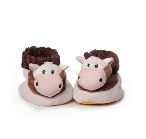 Chaussons Bébé Vache