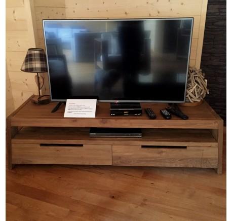 Meuble TV Teck Massif Collection TRAPEZ  - Meuble TV - Meubles bois - Lecomptoirdesauthentics